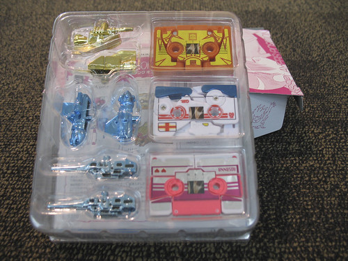 Botcon - airport aftermath - Kiss Player Cassettes outside the box