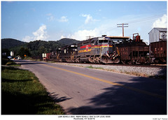 L&N 3591, N&W 1647 & CR 6556 (Robert W. Thomson) Tags: railroad train nw diesel kentucky railway trains locomotive trainengine ge cr norfolkwestern conrail ln emd sd402 penncentral louisvillenashville familylines u33c sixaxle rockholds