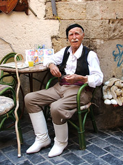 Old man from Crete (mion.nl) Tags: oldman greece crete copyrightmionnl mionnl