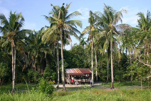 Rural Malaysian house...South of Kuantan.