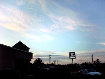 Ocean Shores Cinema, Sunday Night