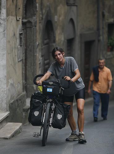 Empinadas calles de Siena