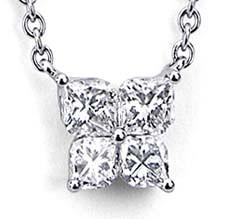 Calla Cut Diamond Necklace