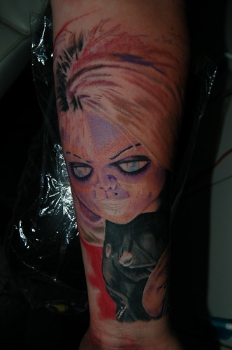 Bride of Chucky in progress4