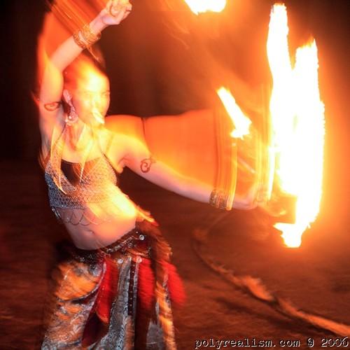 Magi fire dancing
