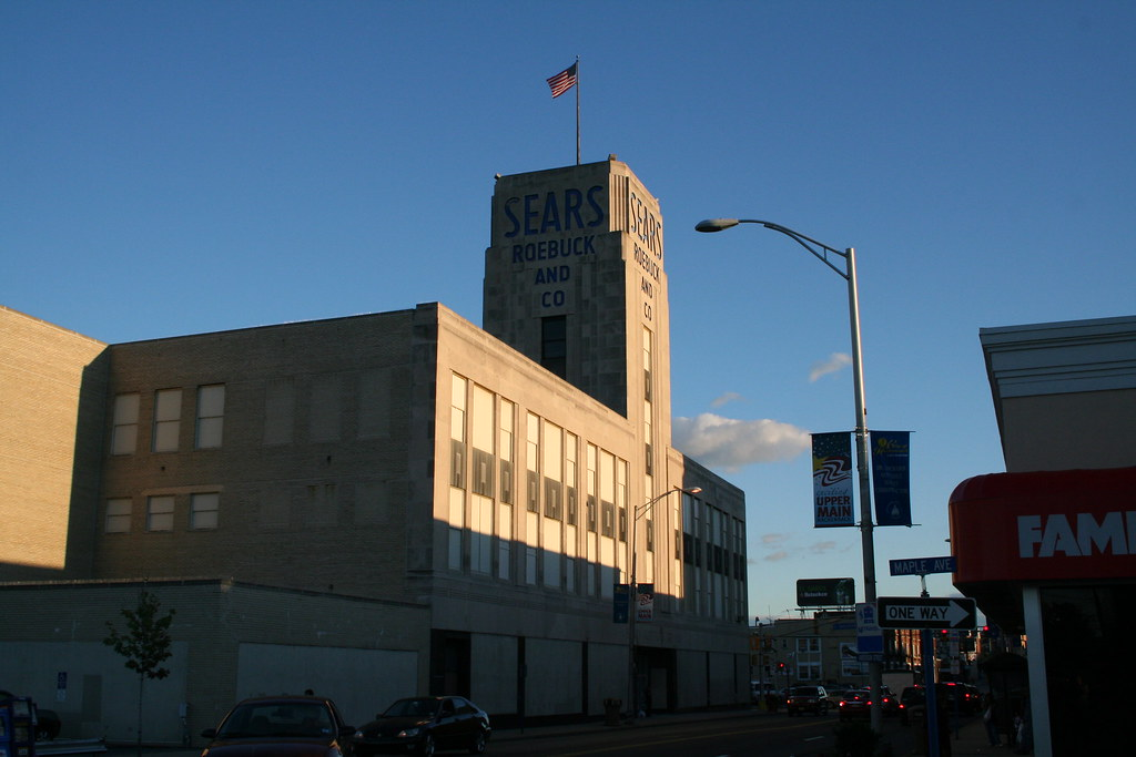 Sears Roebuck, Anderson And Main, Hackensack, N.J. Before The Paint Job