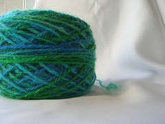 handspun mohair/sheep