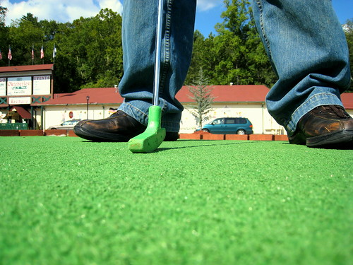 Mini Golf, Helen, GA