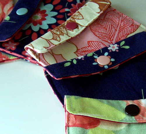Mini Wallets in Amy Butler Fabric