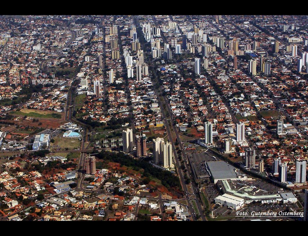 Campo Grande / Mato Grosso do Sul / Vista Aérea Parcial / Centro-Oeste / Brazil
