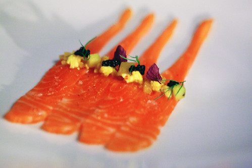 Raw Tasmanian sea trout