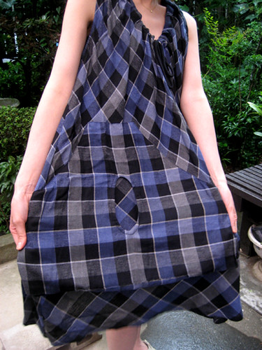 Plaid dress from TSUMORI CHISATO