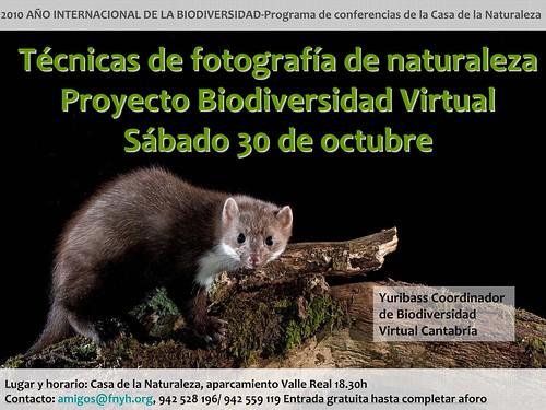 Charla sobre Fotografía de Naturaleza y Biodiversidad Virtual