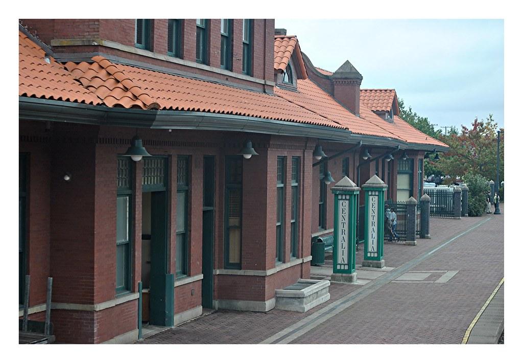 Centralia Amtrak station