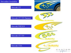 Subaru Rally Graphics Graphics Sticker Rally