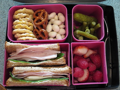 Bento Box Lunch 9-20-10