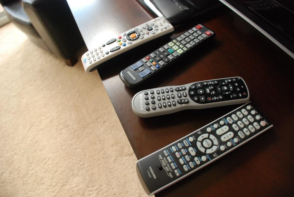 remotes, remotes, remotes