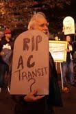AC transit rally Nov 9