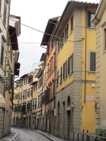 Barrio tras el palacio Pitti