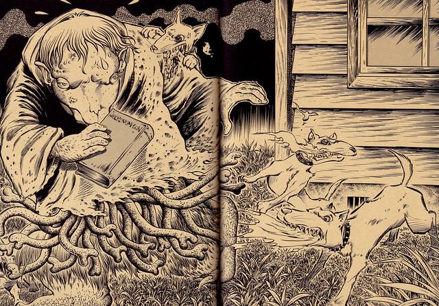 Tatsuya Morino - The Dunwich Horror - H.P. Lovecraft, 1929