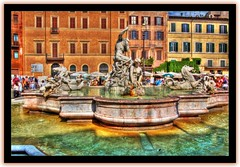 Fountain @ Piazza Navona, Rome (on Explore)