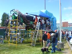 Major scaffolding