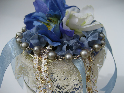 Flowered and jeweled