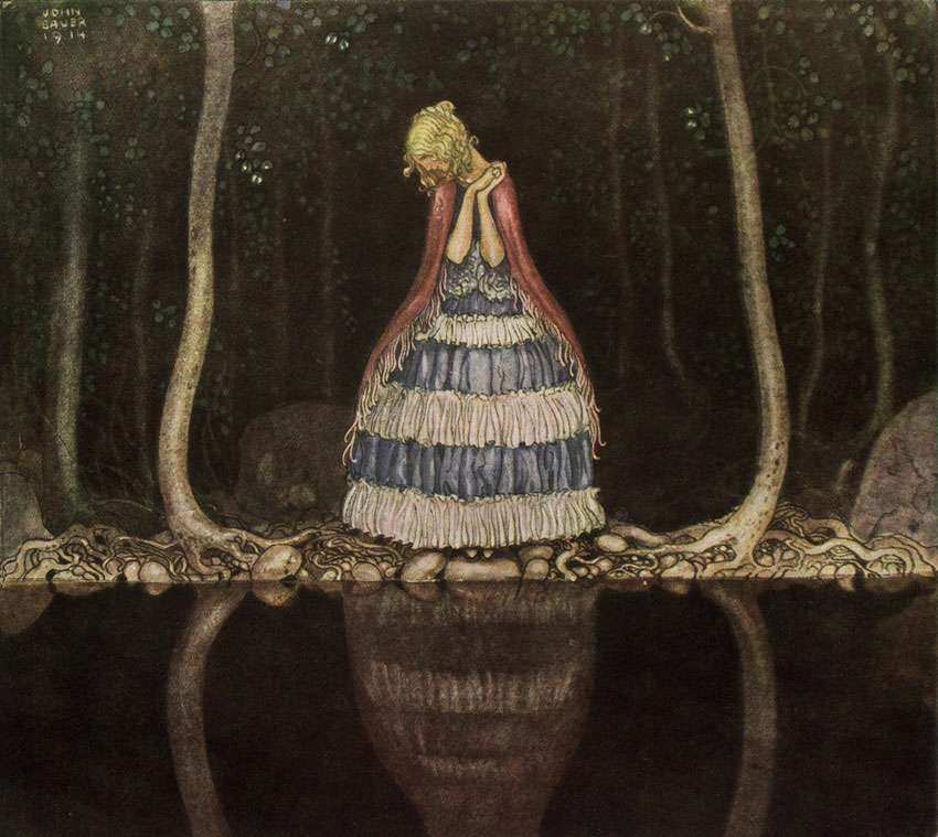 When Mother Troll Took in the King's Washing: Inga by the dark lake