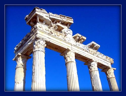 Ruins in Side, Manavgat, Antalya