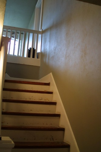Stairway after paint