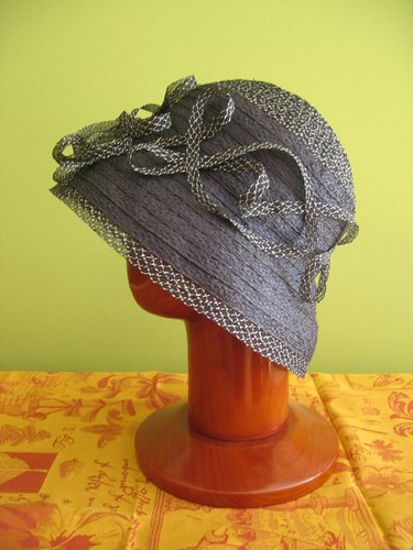 straw braid hat side view