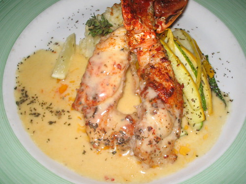 Lobster at The Bayside