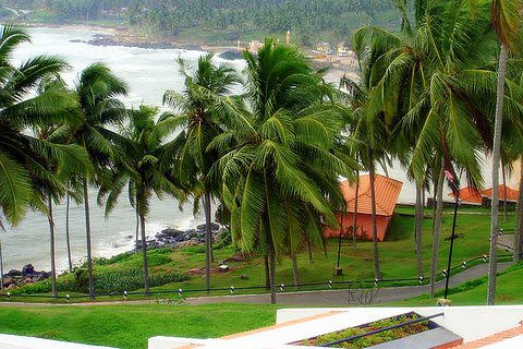 Beautiful location-Kovalam-Kerala-India,