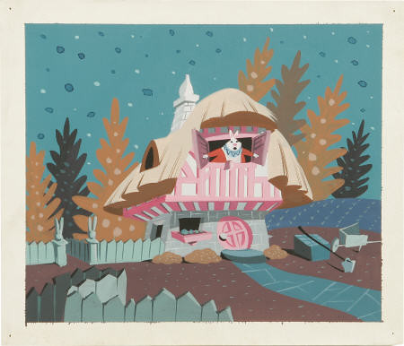 Alice concept piece by Mary Blair / peko-chan