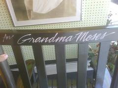 for grandma moses