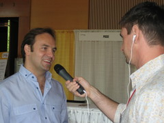 Ubuntu Live: Barton George interviewing Mark Shuttleworth