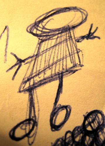 Little man doodle