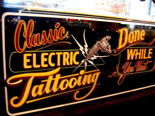 At Last Chance Tattoo in Las Vegas.