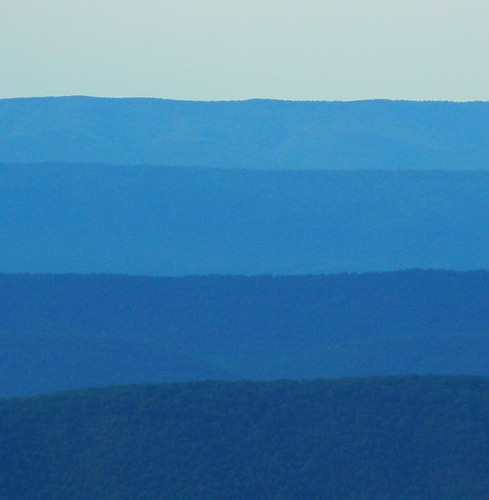A Blue View from Skyline Drive