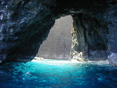 Napali Sea Cave - by Donna62