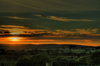 Durham Moors, Sunsets