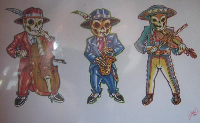 mexican skull tattoo ideas