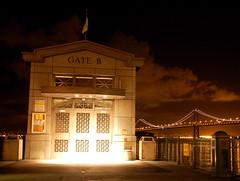 (Le757) Tags: sanfrancisco baybridge ferrybuilding nightshots oaklandbaybridge