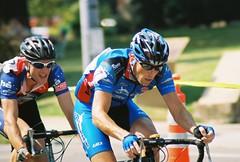 Race to the finish (MurphyRoberts) Tags: film saint bike st race louis minolta 2007 universitycity x700 gatewaycup