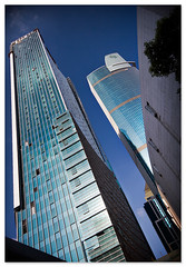 plaza 66 (staffh) Tags: china plaza city urban building tower skyline architecture skyscraper skyscrapers shanghai angle towers wide wideangle 66 staff jingan metropolis tall  shanghaiist ultrawide density nanjingroad puxi  plaza66 urbanity   westnanjingroad