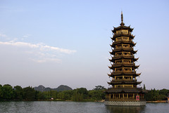Pagoda, Guilin (Alexander Marc Eckert) Tags: china pagoda guilin prc  chine  pagode peoplesrepublicofchina guanxi    chinaalbum sceneryalbum volksrepublikchina guilinalbum
