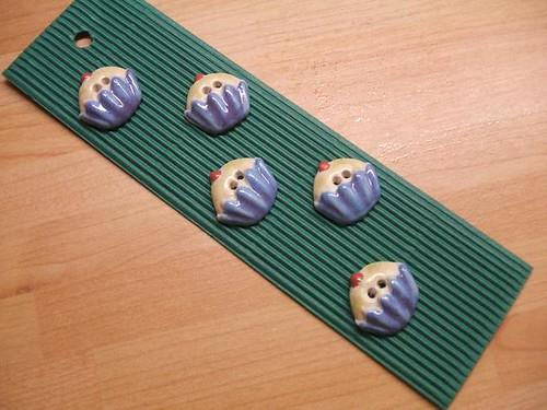 Cupcake buttons