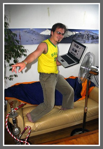 PMgD surfing his couch
