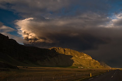 The Sky Above (Kristinn R.) Tags: sky clouds iceland eyjafjallajökull volcaniceruption mountainsm
