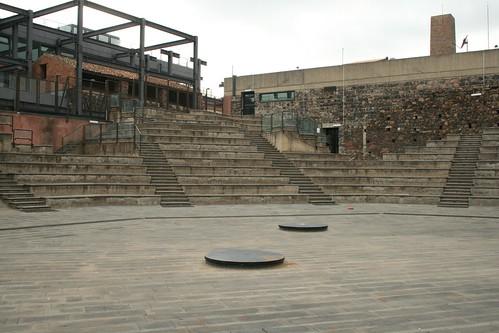 Amphitheater im Centro Le Ciminiere